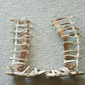 Girls size 3 gladiator sandals